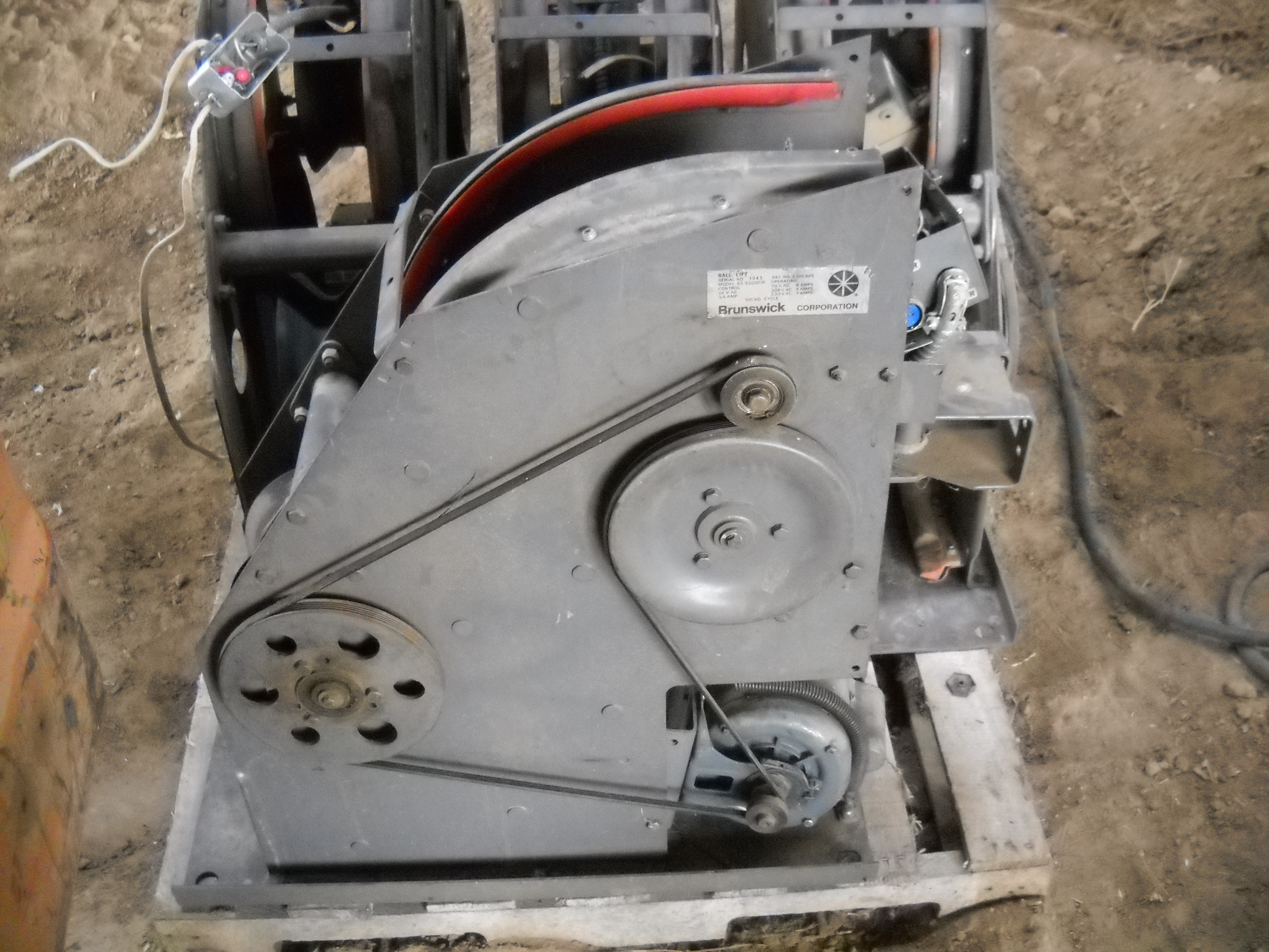 Kicker Wheels Brunswick A2 Electrical Wiring Converted Selling Parts Or Whole Machines For 70000